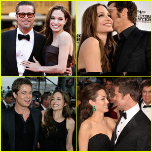 Look Back at Angelina Jolie & Brad Pitt's Sweetest Red Carpet Moments