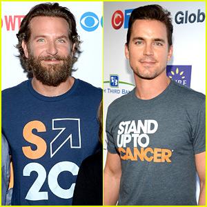 Bradley Cooper & Matt Bomer Support Stand Up to Cancer Telecast