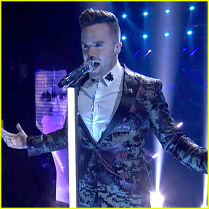 Brian Justin Crum Soars During 'America's Got Talent' Finals Performance (Video)