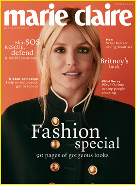 Britney Spears Opens Up About Bad Dates She's Had for 'Marie Claire UK' Cover Story