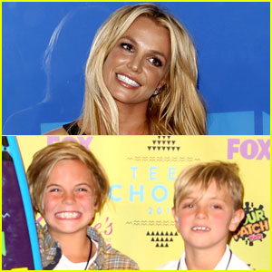 Watch Britney Spears Get Scared By Her Two Kids! (Video)
