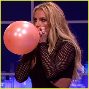 Britney Spears Hilariously Sings Taylor Swift's 'Shake It Off' After Inhaling Helium