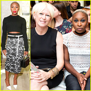 Broadway's Cynthia Erivo Kicks Off Her New York Fashion Week