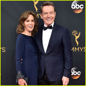 Bryan Cranston Brings Wife Robin Dearden to the Emmys 2016