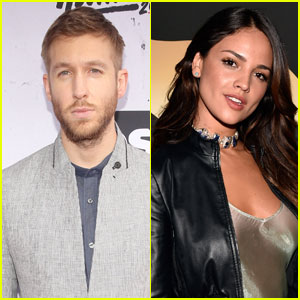 Calvin Harris is 'Talking & Hanging Out' With Eiza Gonzalez
