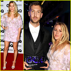 Calvin Harris Jokes That He & Ellie Goulding Just Had a 'Massive Fight'