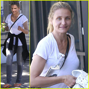 Cameron Diaz Treats Herself to Relaxing Day of Pampering