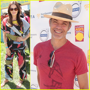 Camilla Belle & Timothy Olyphant Support Alex Loves Lemonade Foundation Fundraiser