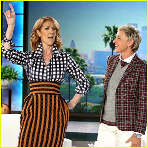 Celine Dion Sings Your Favorite Rap Songs for 'Ellen' (Video)