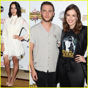 Chloe Bennet & 'Agents of S.H.I.E.L.D.' Cast Celebrate Season 4 Premiere!