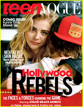 Chloe Moretz Embraces Ex Brooklyn Beckham on 'Teen Vogue' Cover