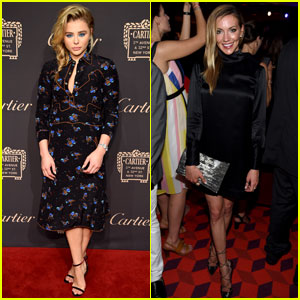 Chloe Moretz & Katie Cassidy Go Glam for Cartier Reopening