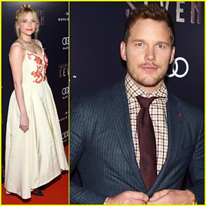 Chris Pratt & Haley Bennett Premiere 'The Magnificent Seven' At Toronto International Film Festival 2016!