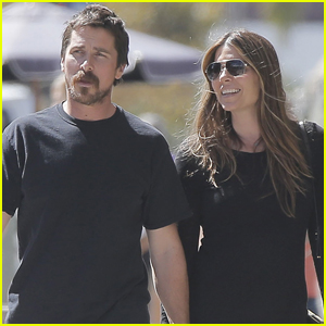 Christian Bale & Wife Sibi Blazic Step Out For Lunch Together