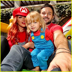 Christina Aguilera Celebrates Daughter's Birthday with Super Mario Bros. Party!