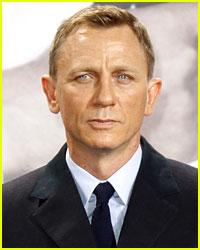 Daniel Craig Has Platinum Blonde Hair Now!