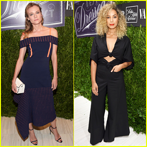 Diane Kruger & Leona Lewis Get Glam For 'Vanity Fair' International Best Dressed List Celebration 2016!