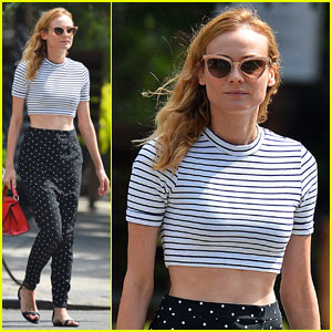 Diane Kruger Grabs Dinner & Drinks With Garrett Hedlund