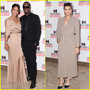 Diddy Gets Support From Cassie & Family At Boys & Girls Harbor Gala!
