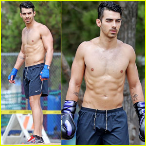 Joe Jonas Shows Off Hot Shirtless Body After DNCE Album Cover Reveal!
