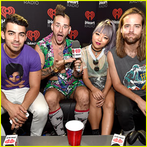 DNCE Wins Best Dressed at iHeartRadio Music Festival's Daytime Village in Vegas