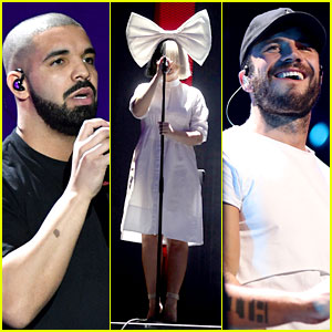 Drake, Sam Hunt, & Sia Kick Off Day One of iHeartRadio Music Festival in Vegas