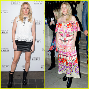 Ellie Goulding Pulls Double Duty During London Fashion Week!