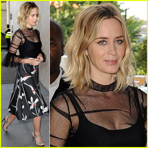 Emily Blunt Discusses 'The Girl on the Train' & Pressures of Motherhood