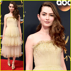 Transparent's Emily Robinson Has a Red Carpet Moment at Emmys 2016!