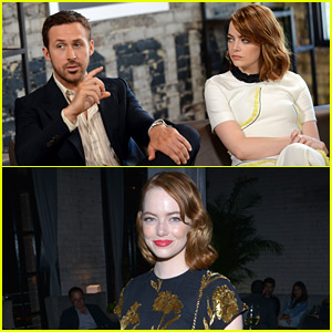 Emma Stone Kicks Off 'La La Land' Toronto Press with Ryan Gosling!