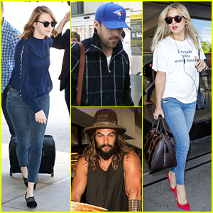 Emma Stone, Ryan Gosling, Kate Hudson, & More Fly Out of Toronto After Attending TIFF