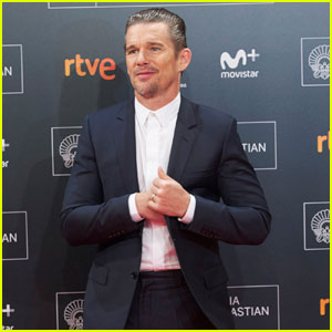 Ethan Hawke Accepts Donostia Award at San Sebastian Festival