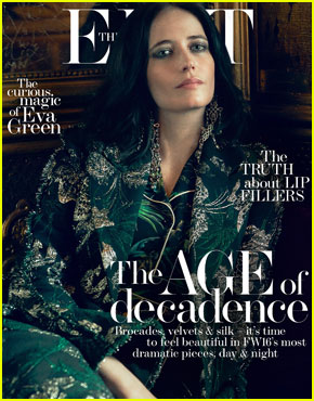 Eva Green Admits to Drunk Texting Every Now & Then