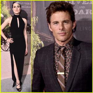 Evan Rachel Wood & James Marsden Premiere HBO's 'Westworld' in Hollywood
