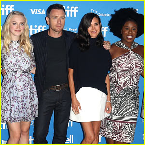 Ewan McGregor & Dakota Fanning Continue 'American Pastoral' Press Tour During TIFF