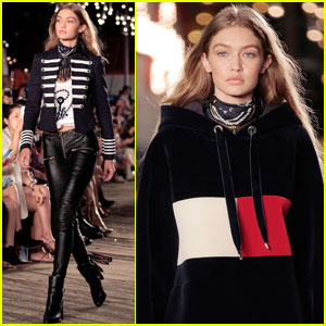 Gigi Hadid Debuts Her 'TommyxGigi' Collection at NYFW