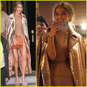 Gigi Hadid Teams Up With Bella For 'Love Magazine'