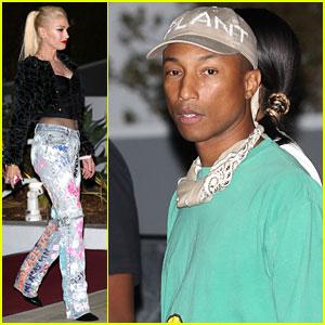 Gwen Stefani & Pharrell Williams Hit Up Drake's Concert!