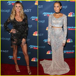Heidi Klum & Mel B Go Glam for 'America's Got Talent' Finale