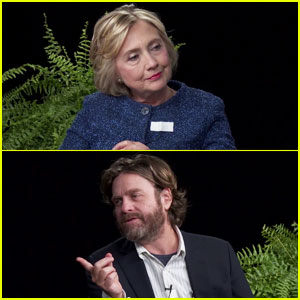 Hillary Clinton Does 'Between Two Ferns' Interview with Zach Galifianakis - Watch Now!