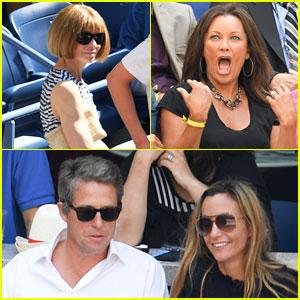 Celebrities Watch Rafael Nadal's Defeat at US Open 2016