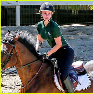 Iggy Azalea Goes Horseback Riding After Her Romantic Getaway With French Montana