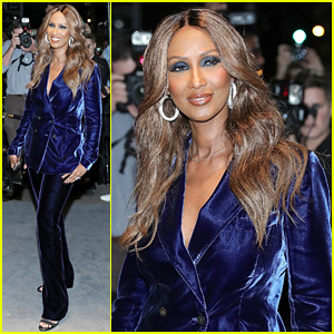 Iman Enjoys Her First Night Out Since David Bowie's Death