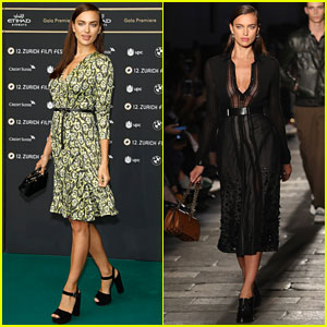 Irina Shayk Leaves Milan for Zurich Film Festival!