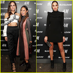 Jamie Chung, Louise Roe & Olivia Culpo Attend Blog Lovin' Awards During NYFW!