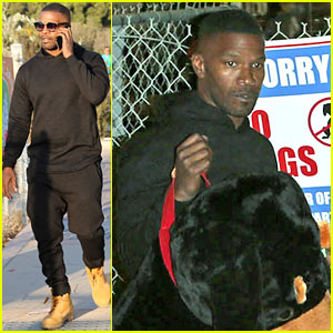 Jamie Foxx Spends His Labor Day Weekend Partying in Vegas!