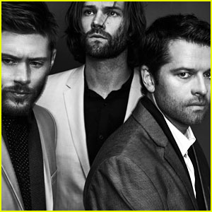 Supernatural's Jared Padalecki, Jensen Ackles, & Misha Collins Do First Magazine Photo Shoot Together!