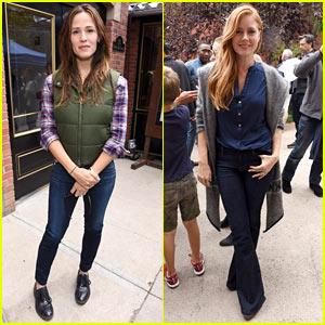 Jennifer Garner & Amy Adams Step Out for Telluride Film Festival 2016!
