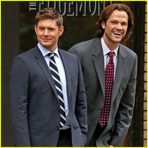 Jensen Ackles & Jared Padalecki Get to Work on 'Supernatural' Season 12!