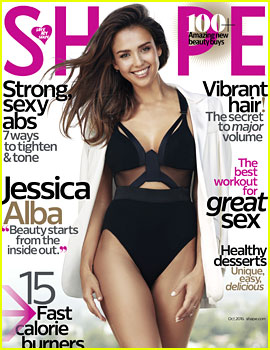 Jessica Alba Talks Dieting, Her Body, & More with 'Shape'